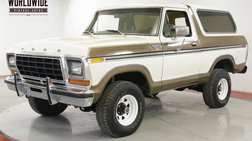 1979 Ford Bronco RANGER XLT TIME CAPSULE COLLECTOR 82K MI AC