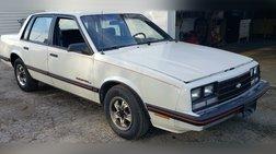 1985 Chevrolet Celebrity Base