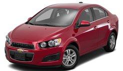 2016 Chevrolet Sonic LT Manual