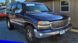 2003 GMC Yukon SLE