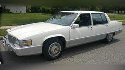 1989 Cadillac Fleetwood Base