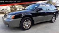 2003 Subaru Outback VDC