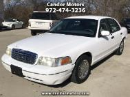 2002 Ford Crown Victoria Base
