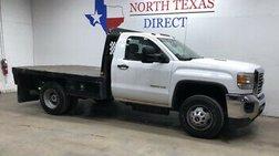 2015 GMC Sierra 3500 3500 Diesel Dually Flatbed Single Cab Work Truck H