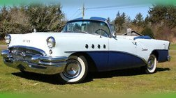 1955 Buick Century Convertible Full Frame Off Restoration with Less Than 500 Mi