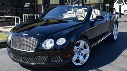 2012 Bentley Continental GT C