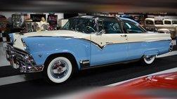 1955 Ford Crown Victoria CROWN VICTORIA SKYLINER PLEXIGLASS ROOF SHOW CAR