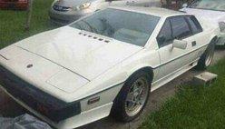 1986 Lotus Esprit 1986 LOTUS ESPRIT S3 TURBO 18,984 ORIGINAL MILES