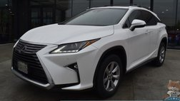 2018 Lexus RX 450h 450h / AWD / Power & Heated Leather Seats / Adaptive Cruise Control / Lane Departure & Blind Spot Alert / Sunroof / Bluetooth / Back Up Camera / 28 MPG / 1-Owner