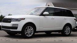 2018 Land Rover Range Rover Base