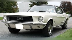 1968 Ford Mustang 289ci Coupe Original Numbers Matching