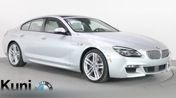 2016 BMW 6 Series 650i Gran Coupe