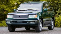 1998 Toyota Land Cruiser Base