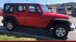 2016 Jeep Wrangler Unlimited Sport RHD