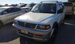 1999 Mitsubishi Montero Sport Limited