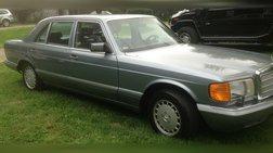 1987 Mercedes-Benz 560-Class 560 SEL