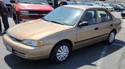 2002 Chevrolet Prizm Sedan 4D