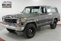 1980 Jeep Cherokee CHIEF S RARE V8 4x4 1 FAMILY OWNED CA TRUCK