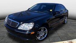 2001 Mercedes-Benz S-Class S 55 AMG