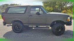 1993 Ford Bronco XL 4x4