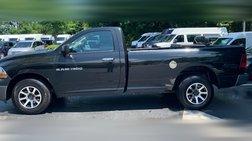 2011 Dodge Ram 1500 4X4 REGULAR CAB 4X4 CUSTOM WHEELS