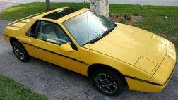 1985 Pontiac Fiero SE