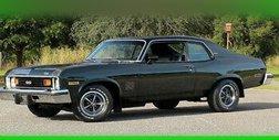 1974 Chevrolet Nova dual exhaust, Muncie 4 speed  code 49 dark green metallic