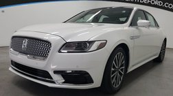 2020 Lincoln Continental Base