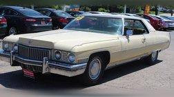 1973 Cadillac DeVille Coupe de Ville