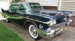 1958 Cadillac DeVille 1958 CADILLAC SERIES 62 COUPE DEVILLE