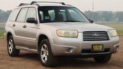 2007 Subaru Forester 2.5 X