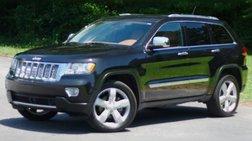 2012 Jeep Grand Cherokee Overland Summit