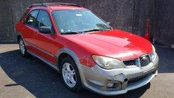 2006 Subaru Impreza Outback Sport