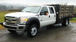 2016 Ford F-550 Super Duty XLT 4WD CREW 12' FLATBED LIFTGATE