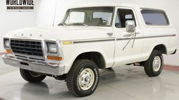 1979 Ford Bronco 400 V8 4x4 PS PB RARE 2ND GEN CONVERTIBLE