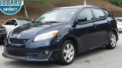 2009 Toyota Matrix S