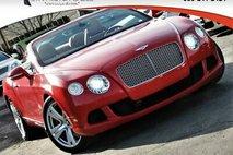 2013 Bentley Continental GT 2dr Convertible