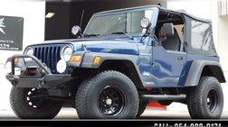 2001 Jeep Wrangler SE
