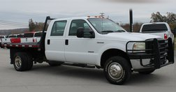 2006 Ford Crew cab Flatbed 4x4 DRW