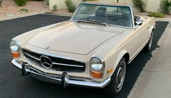 1970 Mercedes-Benz SL-Class Chocolate Leather