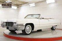 1969 Cadillac DeVille 7.7L 472 V8 AUTO PS PB SUMMER CRUISER