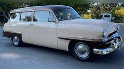 1953 Plymouth Rare 1953 Plymouth Suburban