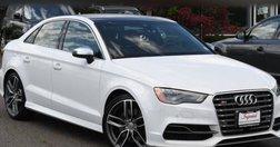 2015 Audi S3 2.0T quattro Prestige