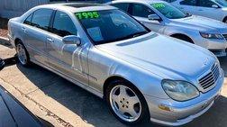 2002 Mercedes-Benz S-Class S 55 AMG