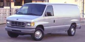 2001 Ford Econoline Cargo Van Recreational