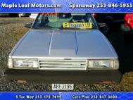 1985 Toyota Camry Deluxe