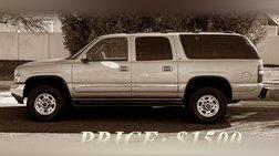 2001 GMC Yukon XL 2500 SLE