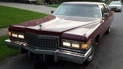 1976 Cadillac DeVille Chrome