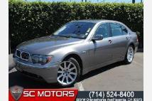 2005 BMW 7 Series 745Li