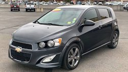 2016 Chevrolet Sonic RS Manual